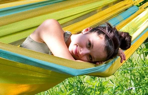 Amazonas Colombiana Limona hangmat zonder spreidstok