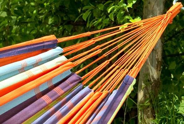Amazonas Colombiana Mandarina hangmat zonder spreidstok
