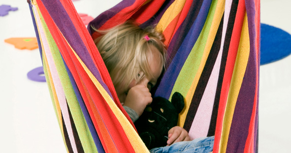 Amazonas Kids Relax Rainbow hangstoel kind