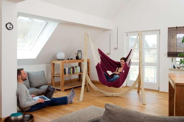 Hangstoel Ophangen Aan Plafond.Amazonas Artista Vino Hangstoel