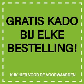 Gratis kado banner homepage
