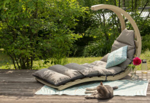 Amazonas Swing Lounger Anthracite
