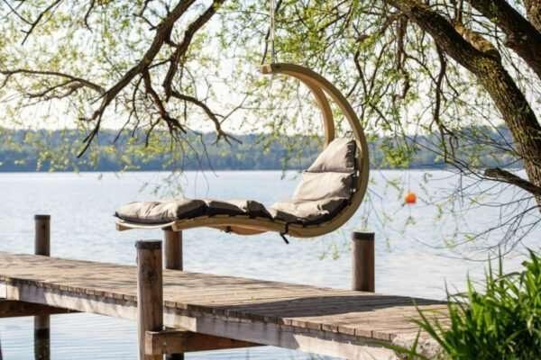 Amazonas Swing Lounger Anthracite