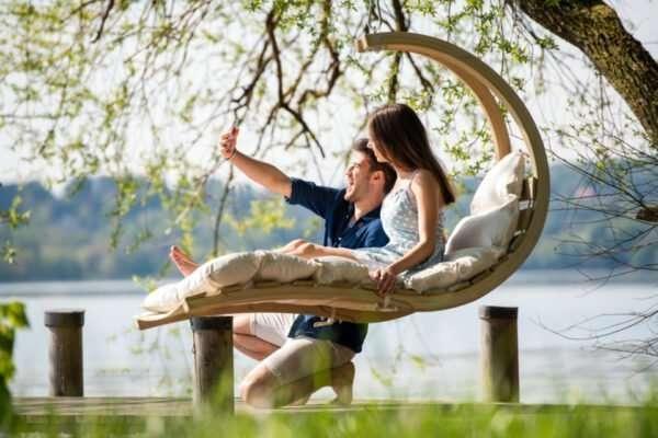 Amazonas Swing Lounger Creme